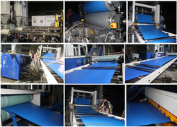 producing machine making machine for pp foam sheet /stationery pp foam sheet extrusion machine with good experience
