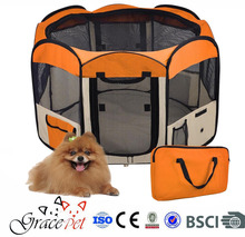 Dog fabric playpen available in different colors