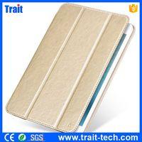 HOCO Crystal Series Tri-Fold Stand Smart Wake Sleep Classic Leather Case for iPad mini 4
