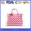 Quilted cotton 100% tote bag custom chevron printing tote bag