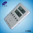 sala de termômetro digital e higrômetro