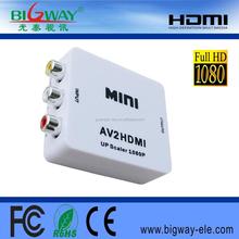 1080P/720P AV to HDMI Converter RCA to HDMI Converter box