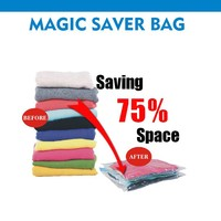 Magic Space Saver Bag Bedding Clothing Packing Bag