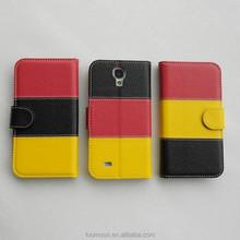 Litch Vein Genius Leather Flip Case for Samsung S5