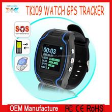 wholesale!Personal wrist Watch GPS tracker with SOS and internal momery, GPS tracker watch TK109