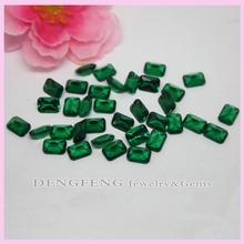 baguette verde esmeralda nano de diamantes aaa