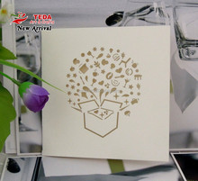 Chinese factories greeting card blank invitation cards