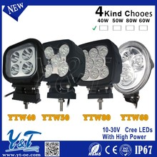 High power battery function 40 LED Multifunctional LED Work Light 40 x 10w off road