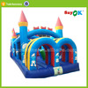 inflatable plastic princess bounce castle play house toy