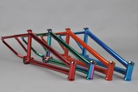 Chromoly4130 Butted cp blue frame used bmx bike parts