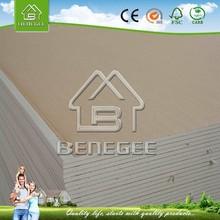 paper faced gypsum board manufacturers/thickness gypsum board /suspended gypsum board ceiling
