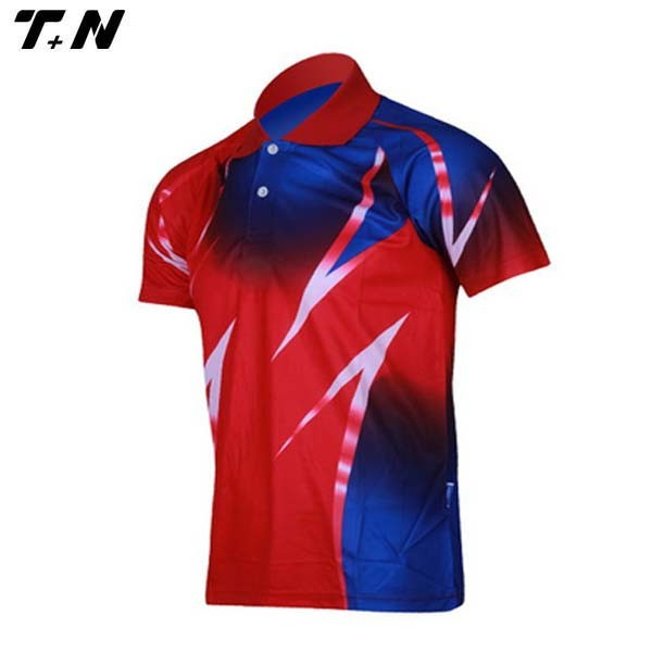 coolmax 100 polyester custom sublimated polo shirts