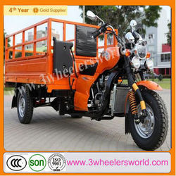Three wheel motorcycle Roof with Power Rear Axle for Sale KW200ZH-3