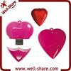 Crystal Heart USB Flash Drive Memory 2GB 4GB 8GB 16GB 32GB 64GB