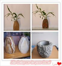 home decor gorgeous design stone vase