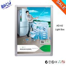 sad super slim led aluminum profile for light box photography display,diy acrylic advertising art led jewelry light box display
