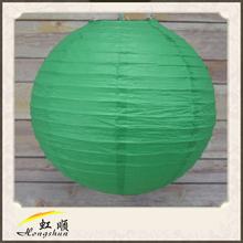 24'' Deep green party city lanterns for decor