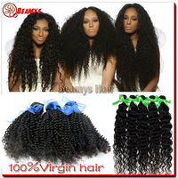 "Beamyshair free shipping 3 packs 20"" Most popular products 2014 hot sale 100% natural color 100 percent indian remy human hair"