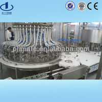 glass bottle IV solution washing filling and sealing machines