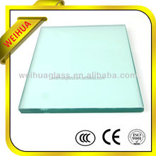weihua factory glass price of glass louver optical glass polishing