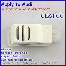 2013 guangzhou car ghost light logo/car light decoration/car door parts apply to audi