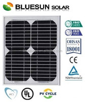 Bluesun CE TUV certificate hot sell small size poly 12v solar panel 10w