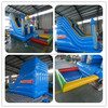 2015 commercial inflatable slide with pool for sale