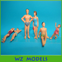 1;50 changeful and colorful sitimulation swimming figure /painting human swimming figure