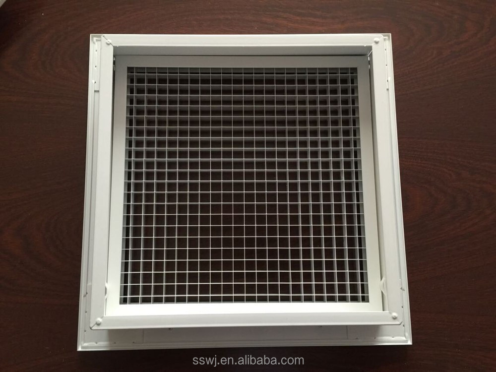 Metal Egg Crate Grille : Ceiling aluminum egg crate grille view