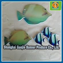 Cartoon pattern board fashionable fish shape cutting chevron board