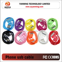 usb cable mobile charger data cable for iphone 4 4s mobile phone
