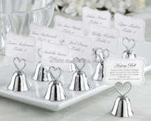 """""""Kissing Bell"""" Place Card/Photo Holder"""