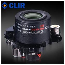 IR-CUT 2.8-12mm Auto iris adjustable motorized zoom and focus lens