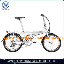 environmental foldable electric bicycle with battery inside of frame with fashionable style