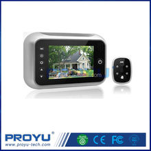 """High quality 8 languages 3.5"""" LCD Electronic door camera Peephole Viewer"""