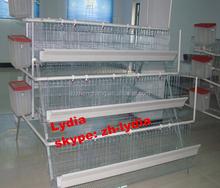 Chicken farm equipment / chicken breeding cage / 3 layers Chicken cage (lydia : 0086-15965977837)