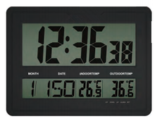 digital wall clock simple style for France
