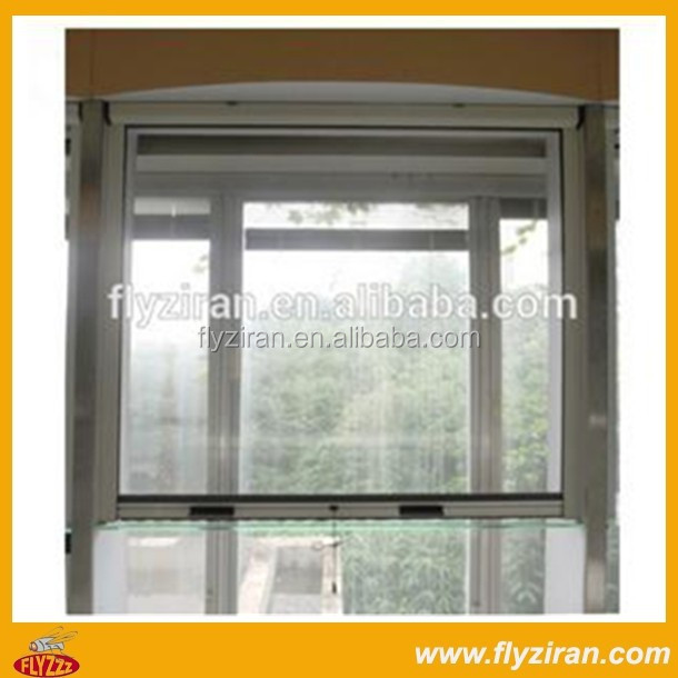 High Quality Roll Up Fiberglass Window Screen With Cheap