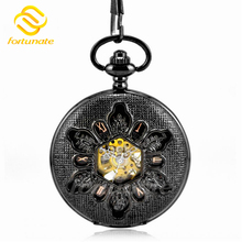 The best selling fashion round open-face pocket watch