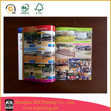 2015 glossy low cost magazine printing in China
