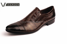 New arrival genuine leather men's dress shoes 8829-16