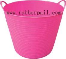 garden tools bucket,plastic flexible bucket,Colorful PE tubs,REACH