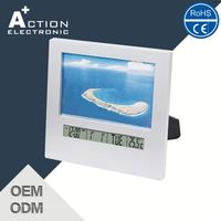 High Resolution Top Sales Quality Assured Photo Frame Insert Clock