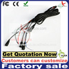 13pin monitor cable with 4pin s-video mini din female plug audio video cables