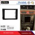 De calidad superior salpicadero del coche marcos para audi a6( 4b) 2001-2004, allroad 2000-2006installation fascia de la placa