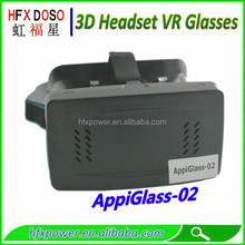 Top quality cell phone 3D vr game glasses,3D vr movie glasses