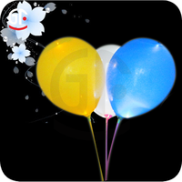 Party Favors Free Sample Glow in the Dark China Hot 3.2g Round Led Balloon