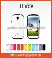 New arrive 2014 hot selling Protective Cover , iFace case for Samsung Galaxy S4 I9500 for iphone4S