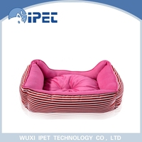 Puppy warm three suits plush animal shaped pet bed for small animals