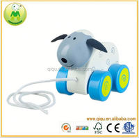 2015 Sheep Pull Along Baby/Toddler/Child Wooden Toys for children Walking